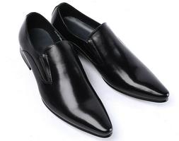 2 Color Size 5-11 New Leather Slip On Loafers Mens Business
