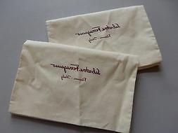 2 x ferragamo classic dust bag great