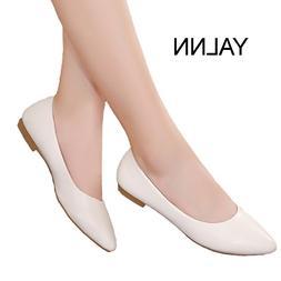 YALNN 2019 New Women <font><b>Shoes</b></font> Flat Leather