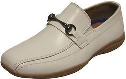 Joseph Dann 2363603 Boys White Slip On Loafers Communion Dre
