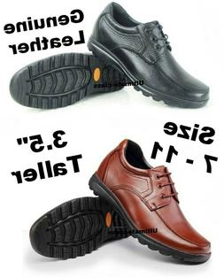 """3.5"""" Men Casual Elevator Height increase Dress shoes size"""