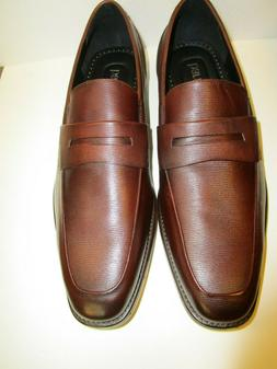 Bar III 3 Beau Textured Penny Loafers Shoes Size 12M  Oxbloo