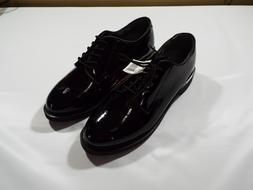 Rothco 5055 Uniform Hi-Gloss Oxford Dress Shoe - Black SIZE