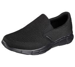 51509 Black Skechers shoe Men Gel Memory Foam Comfort Slipon