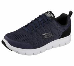 52836 Navy Skechers shoes Men's Memory Foam Sport Comfort Ca