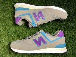 New Balance 574 Classic Men's Running Shoes Grey/Purple/Teal