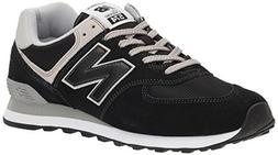 New Balance Men's 574v2 Evergreen Lifestyle Sneaker, Black,