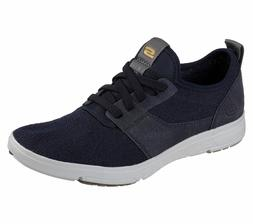 65149 Navy Skechers shoe Men Memory Foam Dress Casual Comfor