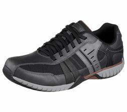 65187 Black Skechers shoes Men Memory Foam Dress Casual Comf