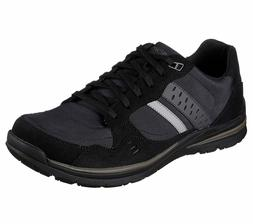 65203 Black Skechers shoes Men Memory Foam Dress Casual Comf