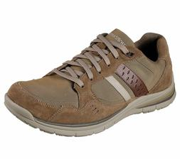 65203 Brown Skechers shoes Men Memory Foam Dress Casual Comf