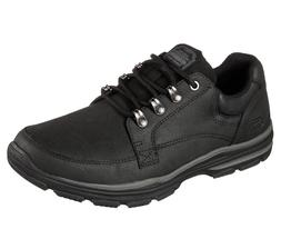 65245 Black Skechers shoes Men's Memory Foam Sport Comfort D