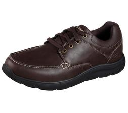 65325 Brown Skechers shoes Men Memory Foam Sport Comfort Dre