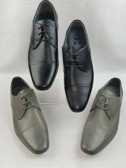 "Majestic ""79893"" Men's Leather Lined Cap Toe Lace Up Oxford"