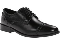 Nunn Bush 84526 001 Norcross Black Men's Cap Toe Oxford Dres