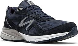New Balance Men's 990V4 Running Shoe Blue, 8.5 6E US