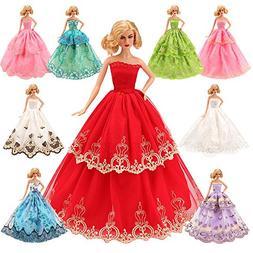 BARWA 5 Pcs Handmade Doll Clothes Europe CE-EN71 Certified W