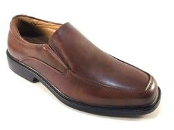 La Milano A1720 Brown Leather Comfort Extra Wide  Men's Slip