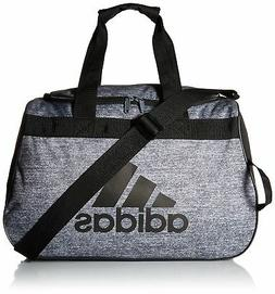 adidas Diablo Duffel Bag, Onix Jersey/Black, One Size