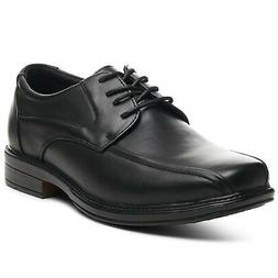 AlpineSwiss Mens Oxford Dress Shoes Lace Up Leather Lined Ba