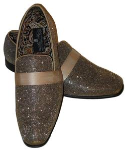 AM 6660 Mens Formal Occasion Dress Loafers Shoes Superb Gold