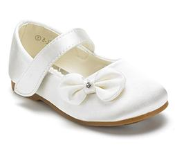 DREAM PAIRS Angel-5 Adorable Mary Jane Side Bow Buckle Strap