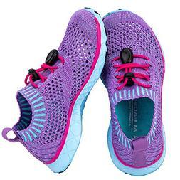 ALEADER Aqua Water Shoes for Girls, Athletic Sport Walking/R