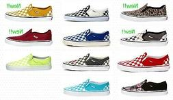 Vans Asher Slip On Women's Skate Shoes Sneakers Casual Canva