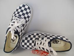 VANS Authentic Checkerboard Dress Blues Skateboarding Shoes