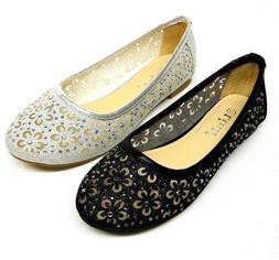 Baby & Toddler Girls' Fashion Ballet Flat Dress Shoes size 9