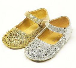 Baby & Toddler Girls' Fashion Ballet Flat Dress Shoes size 2