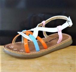 Baby & Toddler Girls' Fashion Dress Flat Sandals size 5 WHIT