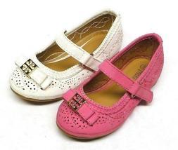 Baby Girls' Fashion Dress Ballet Flat Shoes size 4, 5, 6, 7,
