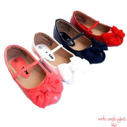 Baby infant toddler girl casual ballet flat dress shoes size