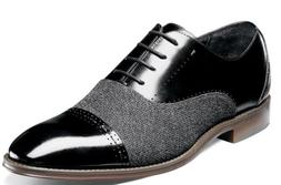 Stacy Adams Barrington Men's Cap Toe Oxfords Black Leather D