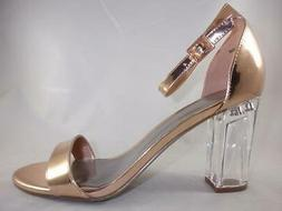 Worthington Bellevue Rose Gold Women's Ankle Strap Sandals D