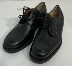 Nunn Bush Black Leather Lace Up Slip Resistant Dress Shoes M