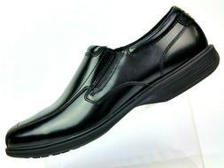 Nunn Bush Bleeker Street Kore Black Slip-On Loafer Shoes 843