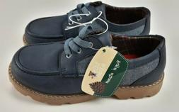 Lily and Dan Blue Dress Casual Boys Shoes Size 2/3 School Ch