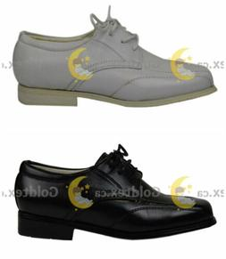 Boy basic dress shoe / black or white dressy shoe for boys