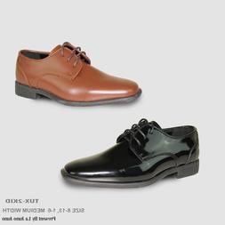 vangelo Boy Kid Formal Tuxedo Dress Shoe for Wedding, Unifor