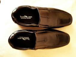 Boys Deer Stags Black Dress shoes 5-1/2 Wide-Width