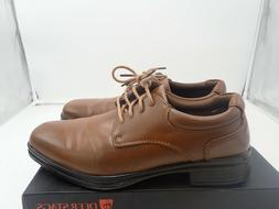 Deer Stags Boys' Blazing Oxford shoe, Luggage, 5 M Big Kid