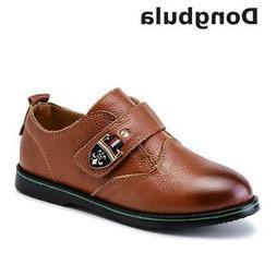 Boys Dress Leather Shoes For Children Wedding Genuine Leathe