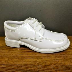 Boys' Patent Oxfords Tuxedo Dress Shoes size 13