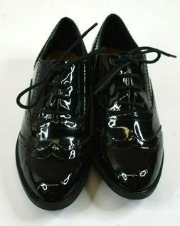 ASOS Boys Size 4.5 Black Tuxedo or Suit Dress Shoes for Form