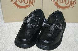 BOYS TODDLER MODIT KENNY BLACK LEATHER DRESS SHOES~SEE LISTI