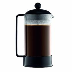 Bodum Brazil French Press Coffee Maker, Black, 8 cup, 1 ea