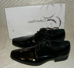Calvin Klein Brodie Dress Shoes - Men's Size 10 Black Patent