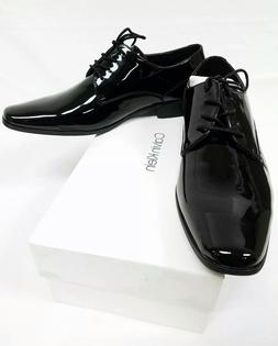 Calvin Klein Brodie Patent Men's Black Dress Shoes Pick Your